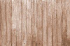 Текстура предпосылки деревянной стены русая стоковые изображения