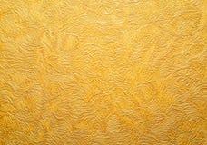Текстура предпосылки золота обои стены штанги предпосылки горизонтальные густолиственные бумажные Стоковая Фотография RF