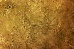 текстура предпосылки золотистая Винтажное золото Стоковые Изображения