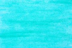 Текстура предпосылки искусства бирюзы пастельная Стоковое Изображение RF