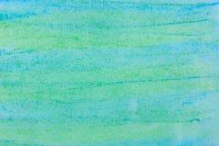 Текстура предпосылки искусства бирюзы пастельная Стоковые Изображения