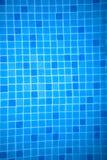 Текстура предпосылки и картина голубых мозаик Стоковые Фотографии RF