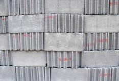 Текстура предпосылки кирпичей цемента Стоковая Фотография RF