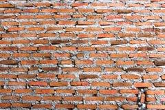 Текстура предпосылки кирпичной стены Стоковая Фотография