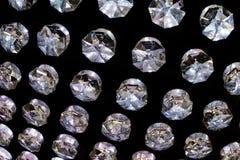 Текстура предпосылки кристаллов молнии мягкая Стоковое Изображение RF