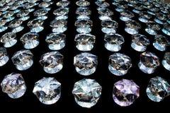 Текстура предпосылки кристаллов молнии мягкая Стоковое фото RF