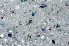Текстура предпосылки кристаллов молнии мягкая Стоковые Фотографии RF