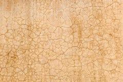 Текстура предпосылки от треснутой стены Стоковое Фото