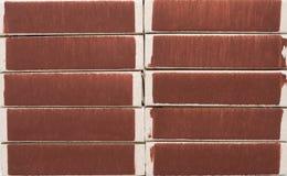 Текстура предпосылки от matchboxes Стоковые Изображения