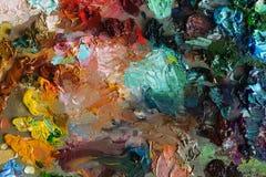 текстура предпосылки палитры искусства Стоковая Фотография RF