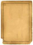 текстура предпосылки пергаментной бумаги 1800s античная Стоковое Фото