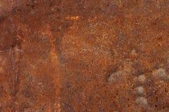 Текстура предпосылки ржавчины утюга красного цвета Grunge Стоковое Фото