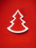 Текстура предпосылки рождества бумажная, тема papercraft Стоковая Фотография RF