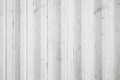 Текстура предпосылки, стена белого сброса деревянная Стоковая Фотография RF