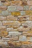 Текстура предпосылки стены песчаника Стоковое фото RF