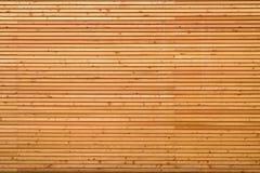 Текстура предпосылки точно slatted древесины Стоковые Изображения
