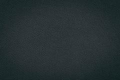 текстура предпосылки черная кожаная Стоковое Фото
