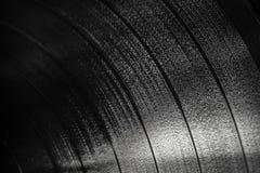 Текстура предпосылки черного показателя винила Стоковые Изображения RF