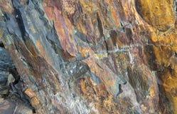 Текстура предпосылки шифера каменная Стоковые Фотографии RF