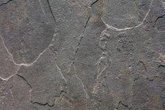 Текстура предпосылки шифера каменная Стоковые Изображения