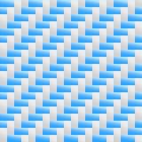 Текстура предпосылки weave голубого серого цвета Стоковое Изображение RF