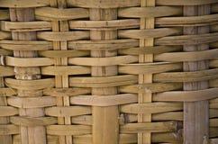 Текстура предпосылки weave ротанга Стоковые Фотографии RF