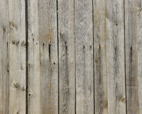 Текстура пригвозженных деревянных панелей Стоковые Фотографии RF