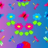 Текстура природы лета безшовная Стоковая Фотография RF