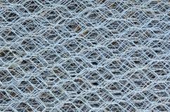 текстура проволочной изгороди стали железная сырцовая в складе Стоковая Фотография RF