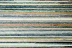 Текстура противоположности кассеты позвоночника Стоковое фото RF