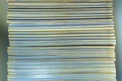 Текстура противоположности кассеты позвоночника Стоковое Изображение RF
