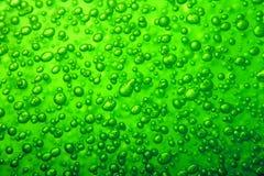 Текстура пузыря воды Стоковое Фото