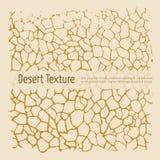Текстура пустыни Стоковые Изображения