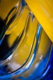Текстура пластичной бутылки Стоковые Изображения
