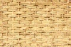 Текстура плетеной корзины, предпосылка Стоковое Фото