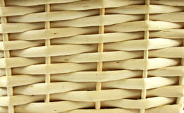 Текстура плетеной корзины Стоковые Изображения