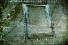 текстура рамки джинсовой ткани Стоковое Изображение