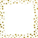 Текстура рамки золотая с космосом экземпляра Стоковая Фотография