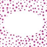 Текстура рамки розовая glittery с космосом экземпляра Стоковое фото RF