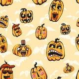 Текстура растра на хеллоуин состоя из элементов праздника Стоковое Изображение RF