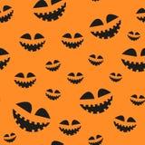 Текстура растра на хеллоуин состоя из элементов праздника Стоковые Изображения