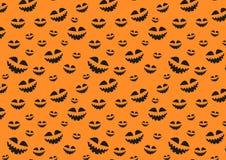 Текстура растра на хеллоуин состоя из элементов праздника Стоковое Изображение