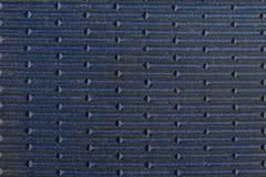 Текстура резиновой поверхности с линейной выпуклиной нашивки, выступленное Стоковые Фотографии RF