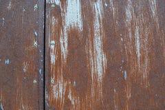 Текстура 5670 - ржавая стальная пластина Стоковые Фотографии RF