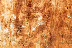 Текстура ржавого металла с заклепками Стоковая Фотография RF