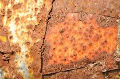 Текстура ржавого металла стоковая фотография rf