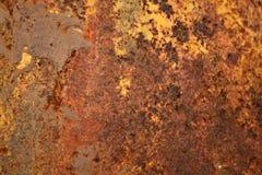 текстура ржавчины металла firey предпосылки Стоковая Фотография RF