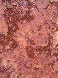 текстура ржавчины остальных более глубокого фокуса штанги левая Стоковое Изображение RF