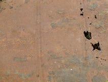 текстура ржавчины остальных более глубокого фокуса штанги левая Стоковые Изображения RF