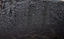 текстура ржавчины остальных более глубокого фокуса штанги левая Стоковое Изображение